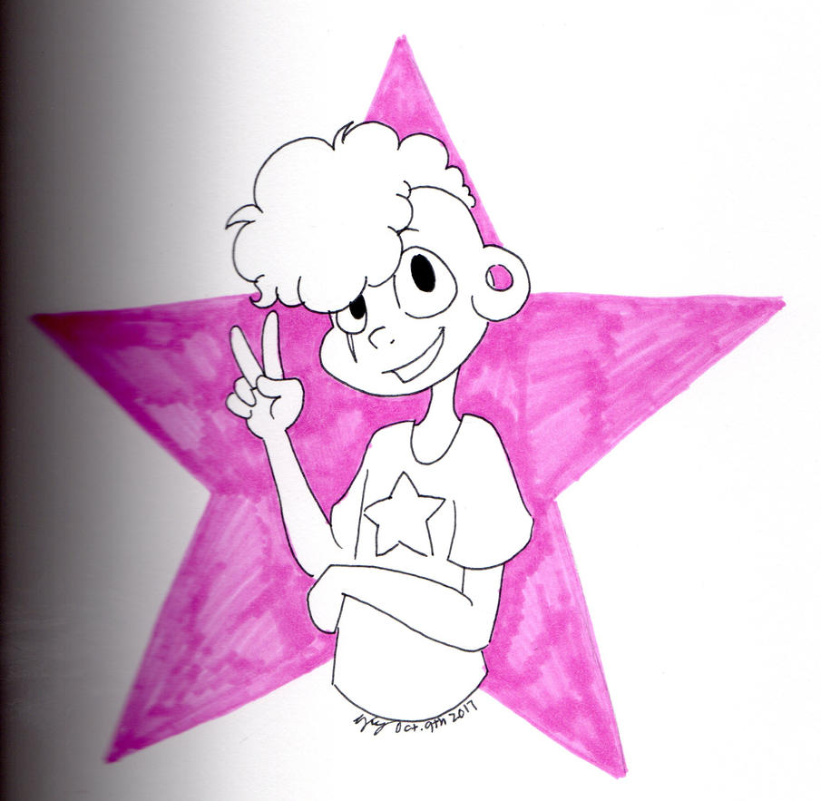 Steven Universe  Featuring Lars Barriga. Lars is my absolute favorite character...ever since he was first shown on the show, I just love love love him to freakin' pieces. He is my son......