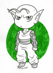 DBZ: Big Green Dad by kiananuva12