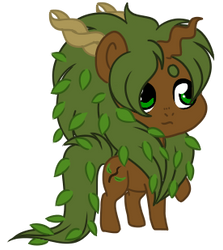 MLP: Witch of the Everfree Forest Chibi by kiananuva12