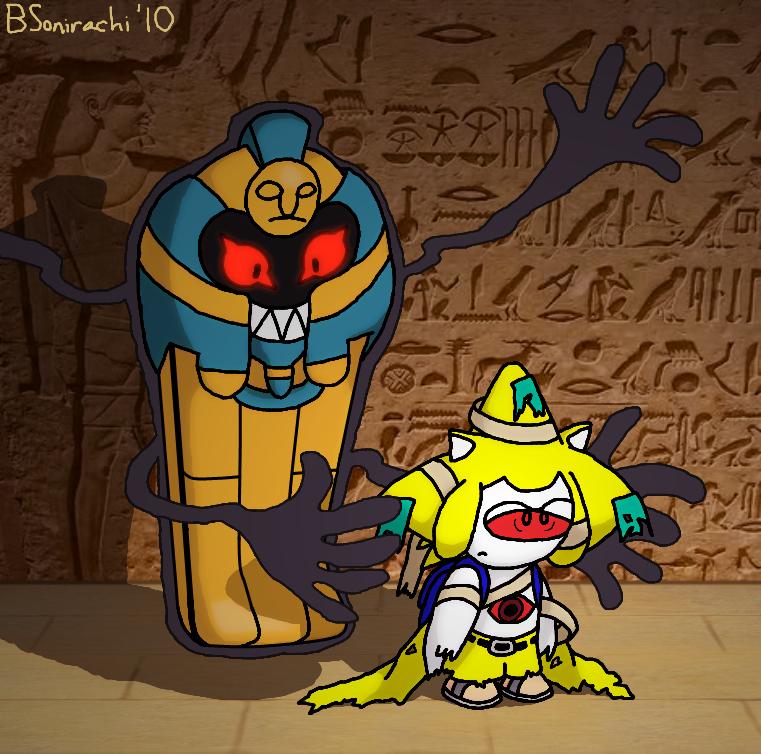 Pokemon Cofagrigus Episode Cofagrigus' New Minion...