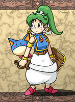 Heroine of Monster World by Sorachi-Jirachi