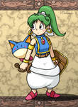 Heroine of Monster World