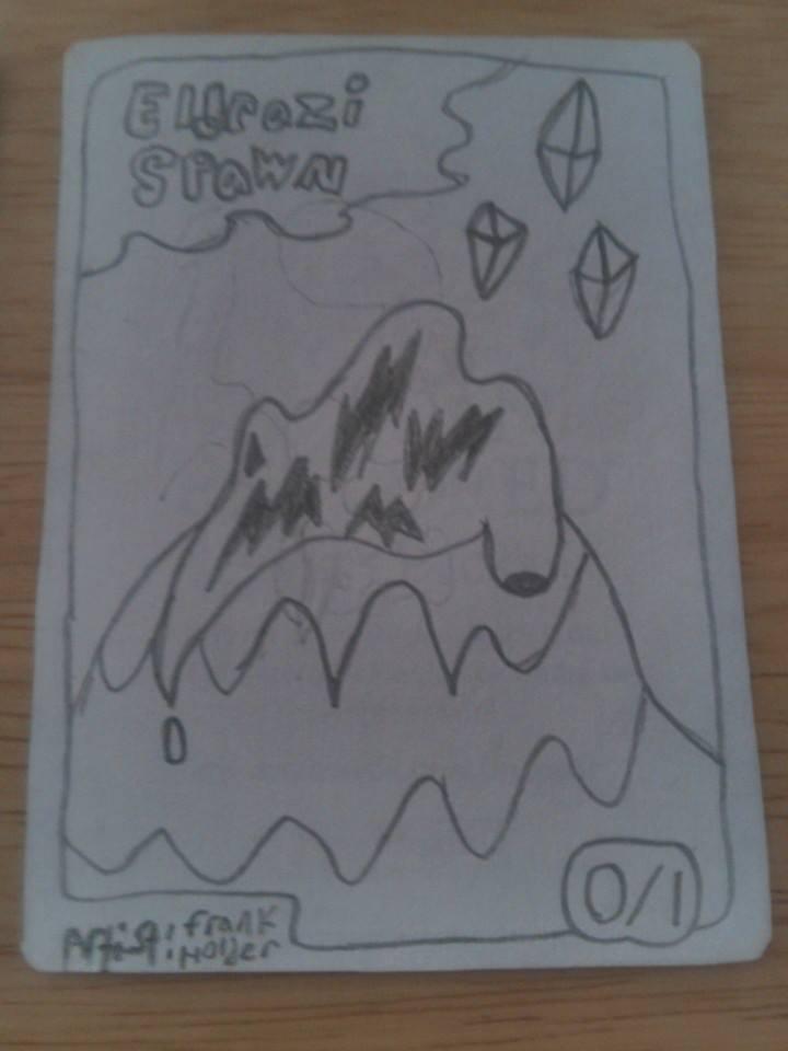 Eldrazi Spawn Token by frank111222
