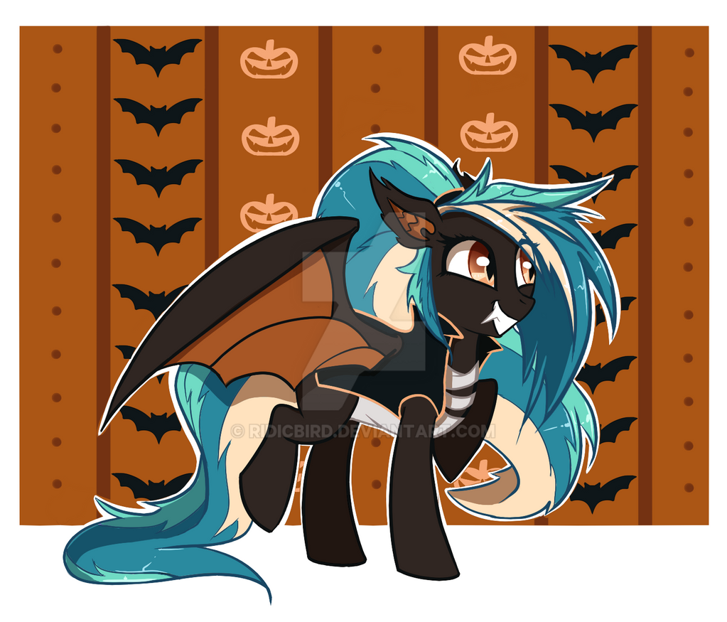 halloween bat pony auction closed by extremepenguin on deviantart