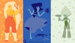 Colour Scheme Fanart: Steven Universe 2 by RidicBird