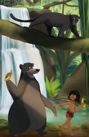 Commission: Jungle book by RidicBird
