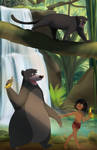 Commission: Jungle book
