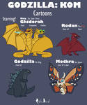 King Of Monsters Cartoon