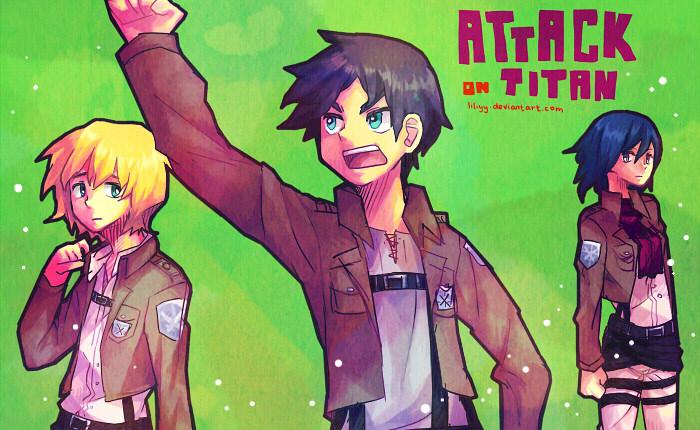 Attack on Titan by liliyy