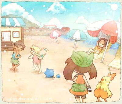 Beach by liliyy