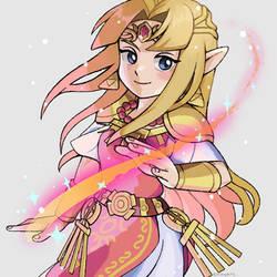 Zelda(smash) by liliyy