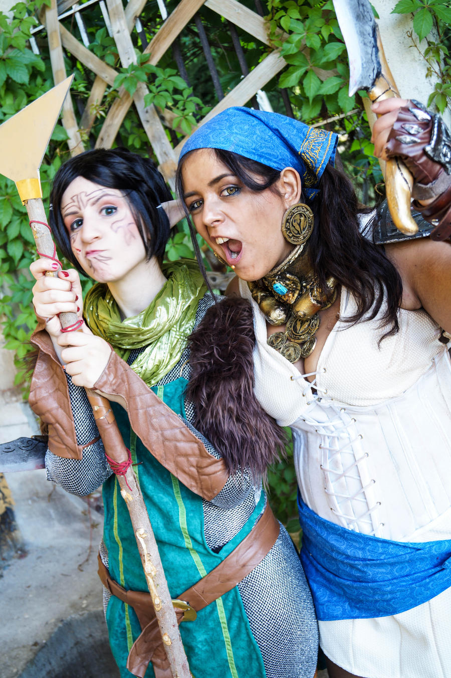 Isabela and Merrill by wilbur-kyriu