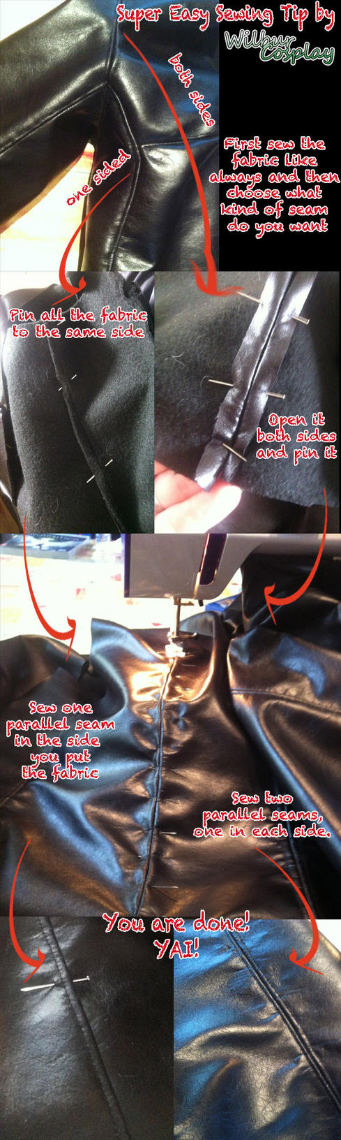 Sewing Cosplay Tutorial by wilbur-kyriu