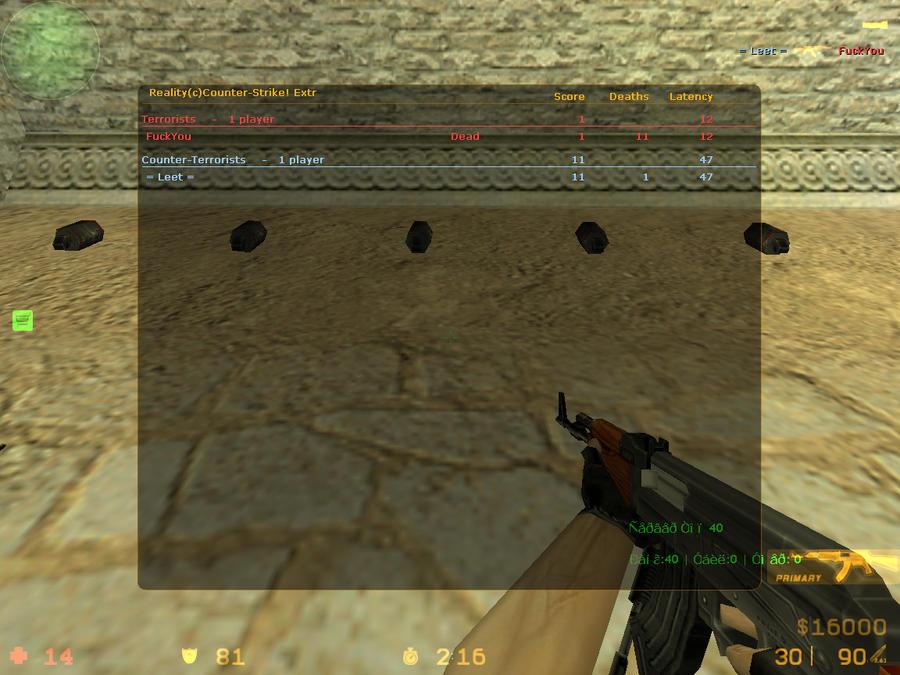 Стандартный клиент игры:или Counter-Strike 1.6 High Skill. Бесплатно;; Чис