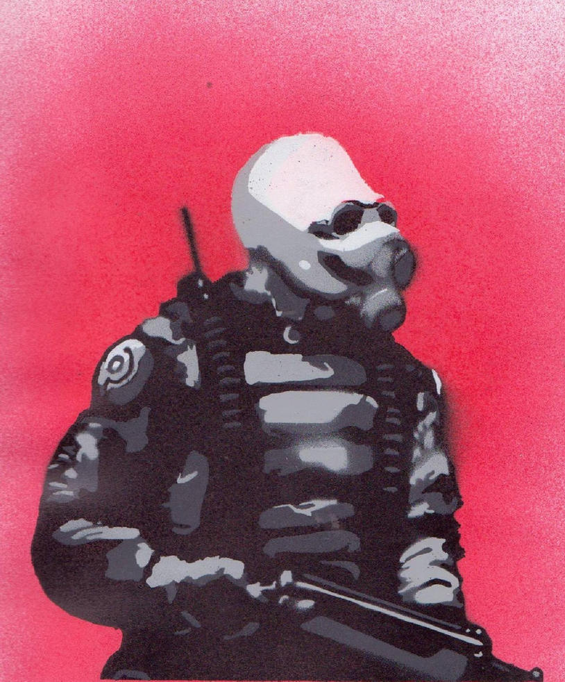 Combine Stencil by Comrade47