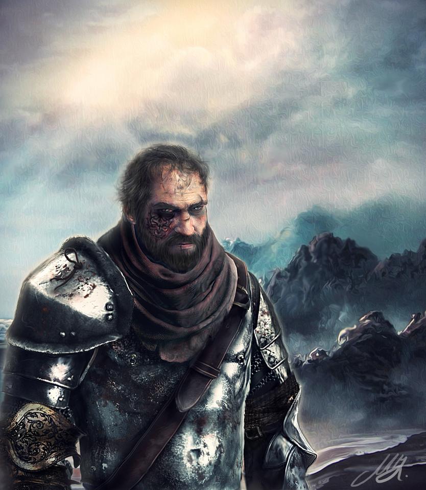 Ser Jorah the Sellsword by Mike-Hallstein