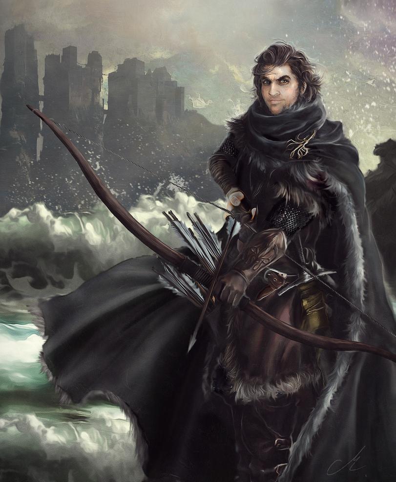 Theon Greyjoy on Pyke by Mike-Hallstein