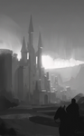 Castle - values sketch