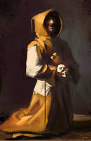 Francisco Zurbaran study by RobertoGatto