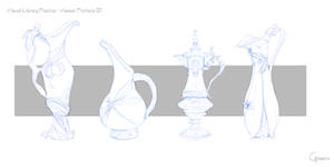 Visual library practice - Vases/Pitchers 01