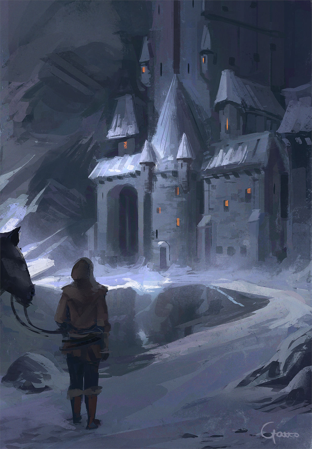 To the keep