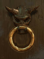 Door knocker by RobertoGatto