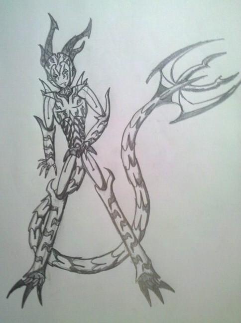 Galactia's new design by GalactisBot