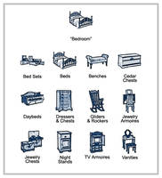 Furniture Icons - Bedroom by Acasigua