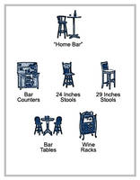 Furniture Icons - Home Bar by Acasigua