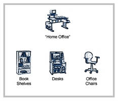 Furniture Icons - Home Office by Acasigua
