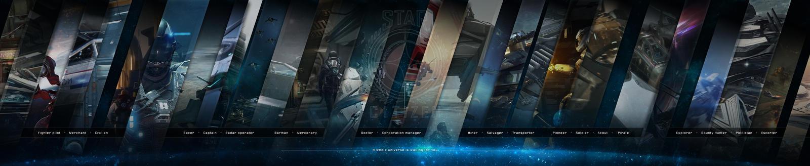 Star Citizen Triple Screen Wallpaper By Logan0015 On
