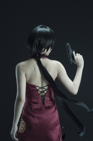 Ada Wong - Flash of Red by rescend