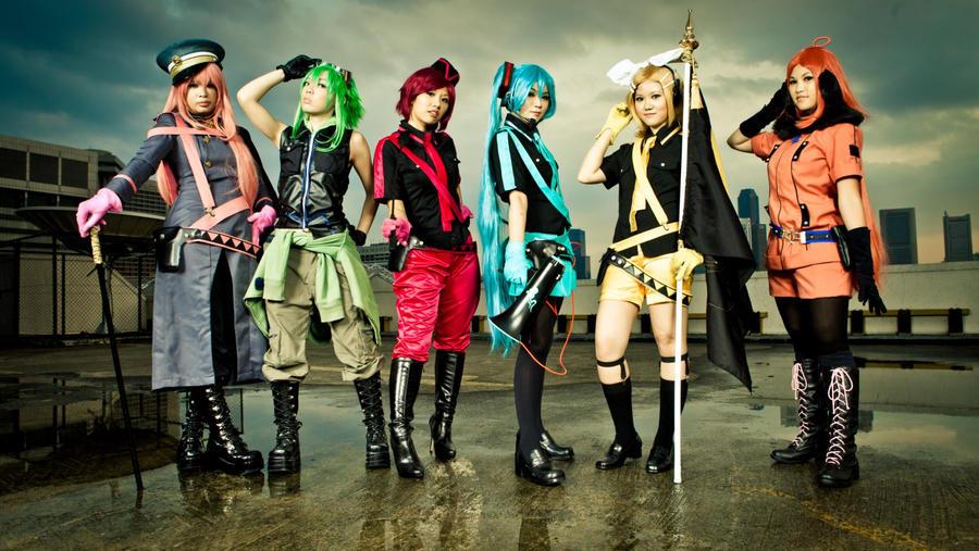 Vocaloid - Eager Love Revenge by rescend