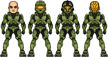 Updated Halo Spartan Armor by JohnnyMuffintop