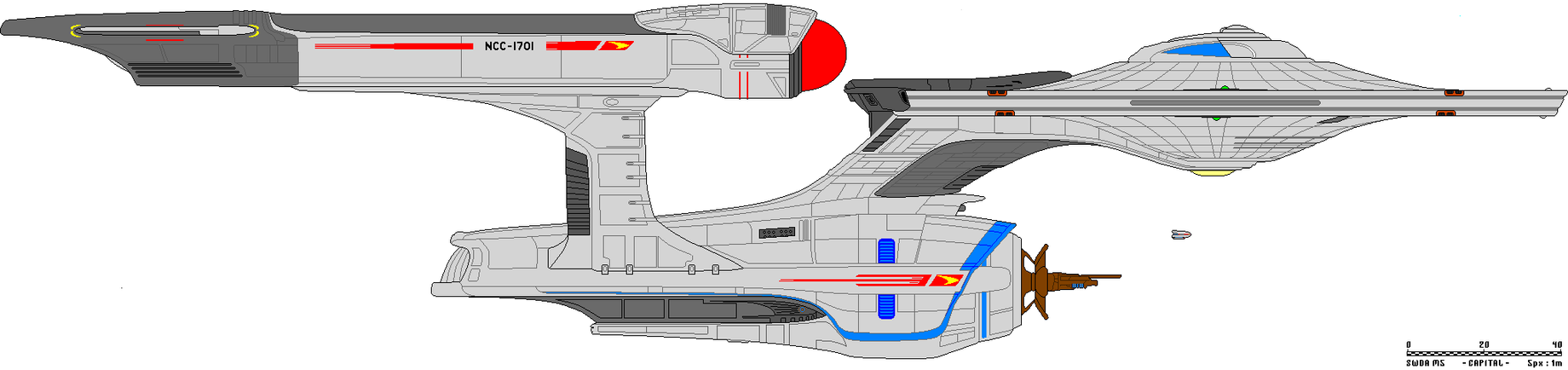 Star Trek XI Enterprise Redo by JohnnyMuffintop