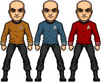 Nu Trek Uniform WIP by JohnnyMuffintop