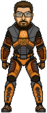 Black Mesa Gordon Freeman by JohnnyMuffintop