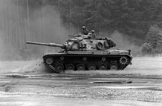 105 mm Gun Tank M60A1 (AOS)