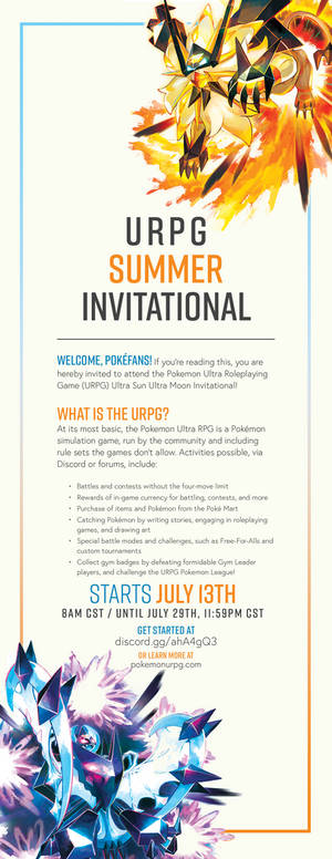 Pokemon URPG - 2018 Summer Invitational!