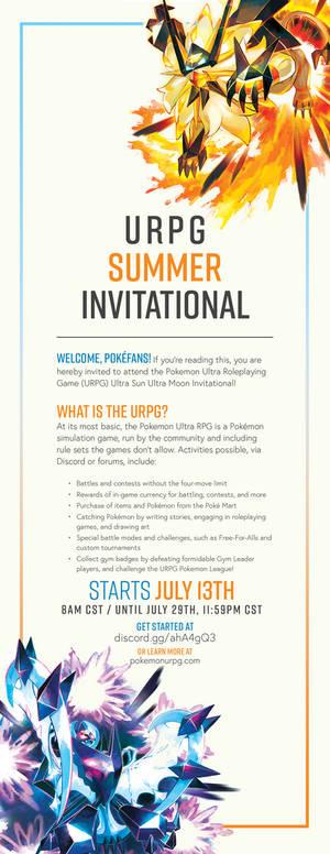 Pokemon URPG - 2018 Summer Invitational!