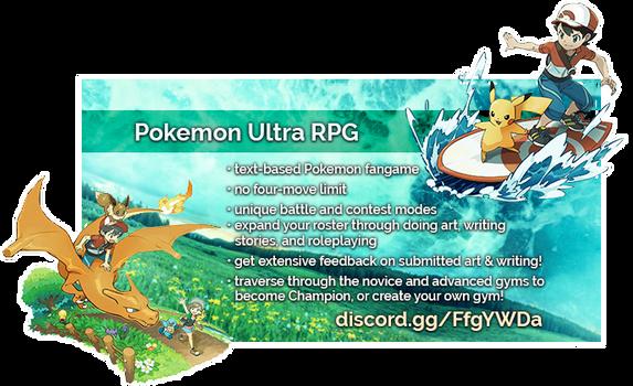 [Pokemon Ultra RPG] Advertisement Banner