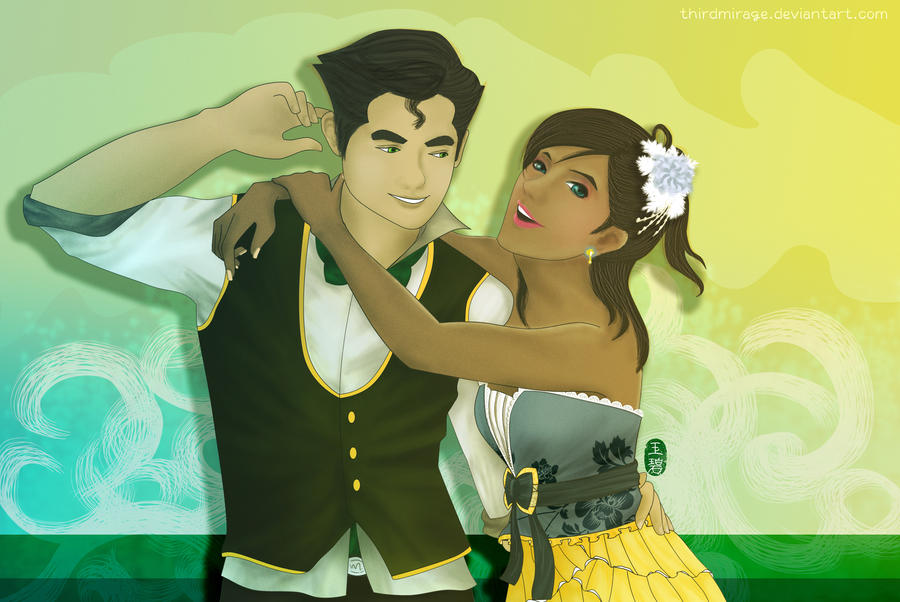 cut After Party with Korra and Bolin by  thirdmirage Korra And Bolin Fan Art