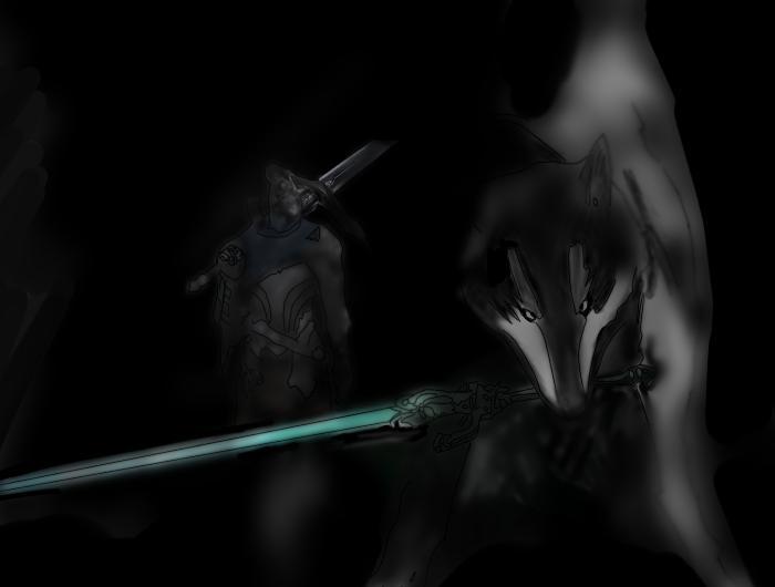 Artorias And Sif Of Dark Soulsdemon Souls By Zabdiell On