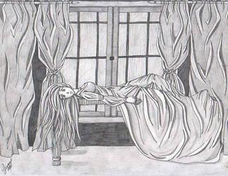 Gloomy Window by Lewna