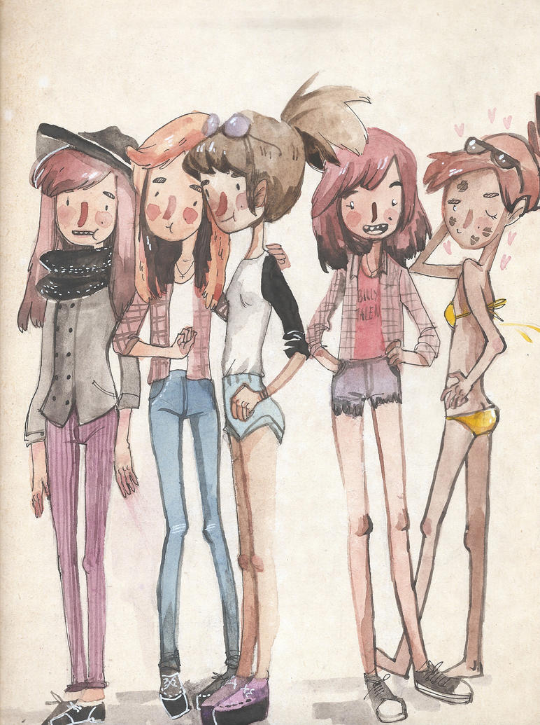 All the single ladies by black-mitagi