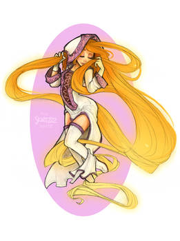 White Mage Rapunzel