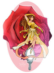 Floral Fallal Belle by Skirtzzz