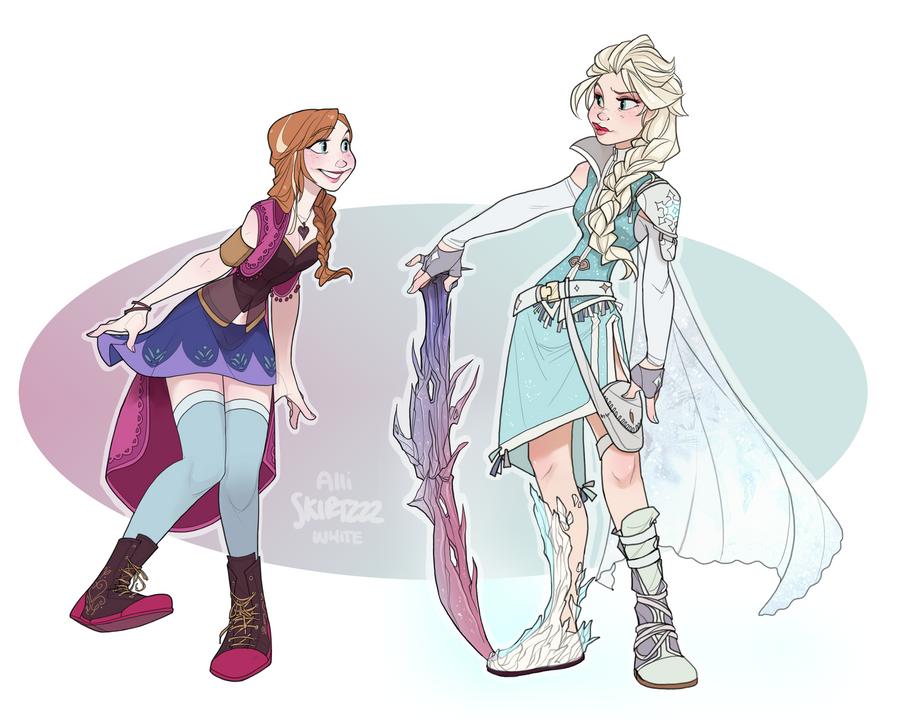 Frozen Fantasy by Skirtzzz