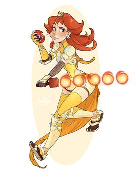 Warrior Daisy by Skirtzzz
