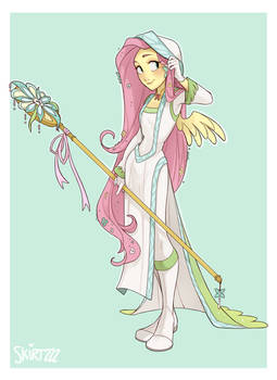 White Mage Fluttershy